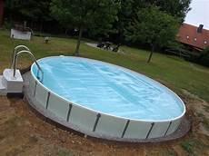 pool in der erde stahlwandpool 2014 500x120 cm im soonwald seite 19
