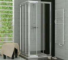 Duschabtrennung Nach Maß Kunststoff - duschabtrennung eckeinstieg 70 x 120 x 190 cm schiebet 252 r