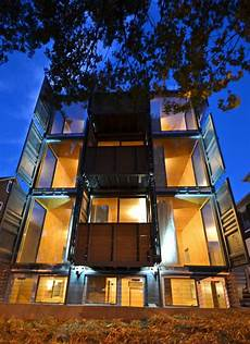 dc s shipping container apts completed