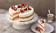 Joghurt Frischk 228 Se Torte Mit Erdbeeren Rezept Dr Oetker