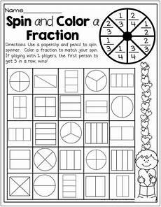 2nd grade math worksheets fractions math classroom math school math worksheets