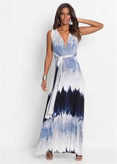 bonprix kleider lang sommerkleid lang blau bodyflirt boutique jetzt im