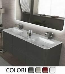 sotto lavandino bagno mobile bagno sospeso da 140 cm 4 colori doppio lavabo