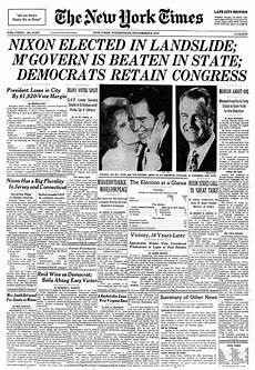 Malvorlagen New York Times New York Times Election Front Pages The New York Times