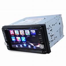 new 2 din car dvd player radio universal bluetooth wince 6