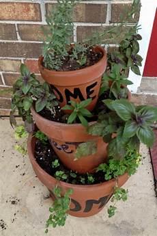 Herb Container Garden starting an herb garden in fl