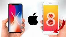 4 Unterschiede Zwischen Iphone 8 Und Iphone X