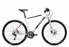 cube cross herren trekking fahrrad wei 223 schwarz rot 2017