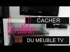 Diy Cacher Les C 226 Bles Du Meuble Tv