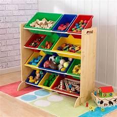 Rangement Pour Enfant Meuble De Rangement En Bois 12 Bacs Pour Enfant