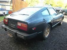 Rare 1981 Datsun 280 ZX Turbo T Tops Factory Black