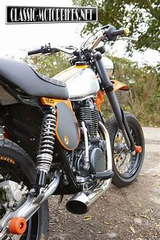 Racing Caf 232 Yamaha Xt 500 Supermoto By Dave Newitt