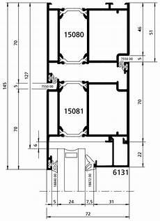 technische zeichnung haustür technische zeichnungen kunststoff und alu haust 252 ren