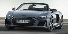 new 2020 audi r8 spyder prices nadaguides