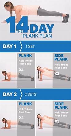 plank plan the 14 day plank plan myfitnesspal