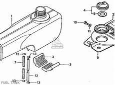 honda ct 70 k3 clutch assembly diagram honda ct70 trail 70 1974 ct70k3 usa parts list partsmanual partsfiche