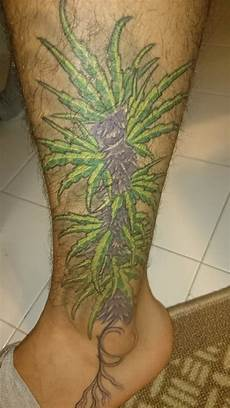 marijuana tattoo s stonerdays fb