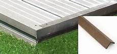 profil finition terrasse composite la finition de la terrasse le guide des terrasses en
