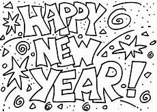 happy new year 2020 coloring pages coloring home