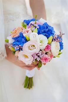 Brautstrauß Hortensien Und - bunter brautstrau 223 mit hortensien und heiraten mit