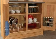 6 kitchen cabinet pantry shelf organizer door