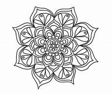 Mandala Blumen - flower mandala deekit