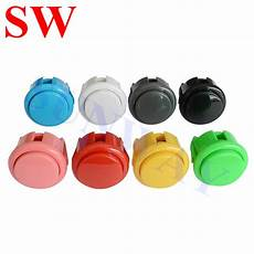 10pcs Black 30mm Push Button Arcade by Aliexpress Buy 10pcs 30mm Push Button Switch Sanwa