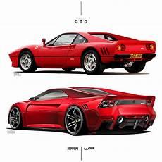 ferrari 288 gto old vs new ferrari concept cars sch 246 ne autos autos sport