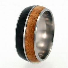 out of africa inlay titanium ring by