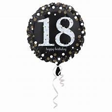 18 geburtstag geschenkballon elegance runde geburtstage
