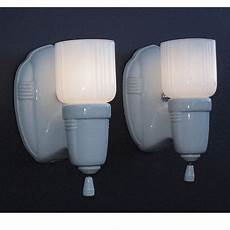 1930s Bathroom Lighting