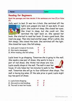 reading comprehension worksheets for beginners 19203 readings for beginners esl worksheets for distance learning and physical classrooms