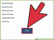 how to create an online survey with pictures wikihow