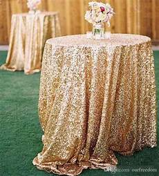 Gold Sparkle Table Cloth Sparkly by Cheap Gold Bling Bling Sequins Wedding Decorations
