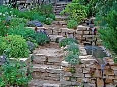 Hanggarten Gartengestaltung Garten Garten Am Hang Und