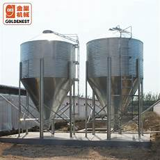 china feeding system galvanized feed silo for poultry farming manufacturers and suppliers
