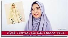 Tutorial Jilbab Pashmina Oki Setiana Dewi Pengantin