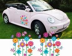 girly car flower graphics stickers vinyl decals 3