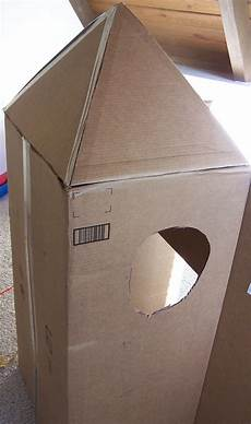 diy cardboard rocket create in the chaos