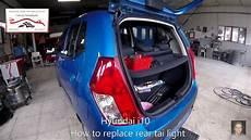 Hyundai Change by Hyundai I10 How To Replace Rear Light