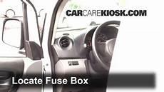 2013 2016 Nissan Nv200 Interior Fuse Check 2015 Nissan