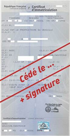Cession Voiture Carte Grise Certificat Cession V 233 Hicule En Ligne Vans Mte Black Friday