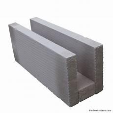 plaque de beton cellulaire b 233 ton cellulaire chainage horizontal 20x25x62 5