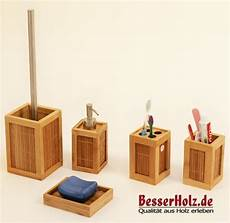 Bad Accessoires Bambus - tolles bad accessoires set aus bambus holz mit b 252 rste ebay