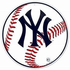 Malvorlagen New York Yankees New York Yankees Baseball Logo Tin Sign At