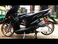 Modifikasi Motor Beat Fi Babylook by Simple Modifikasi Babylook Beat Fi Hitam
