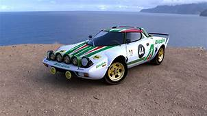 Lancia Stratos Full HD Wallpaper And Background Image