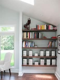 utilize spaces with creative shelves hgtv