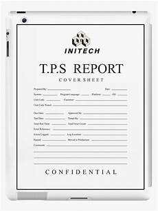 quot tps report cover sheet initech quot ipad cases skins by jasonhoffman redbubble