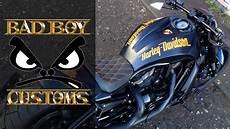 Harley Davidson Rod Quot Orange One Quot By Bad Boy